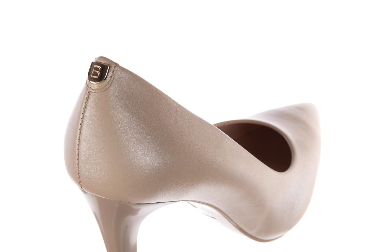 Szpilki bayla-056 9116-1461 beż perła, skóra naturalna  - skórzane - szpilki - buty damskie - kobieta 9