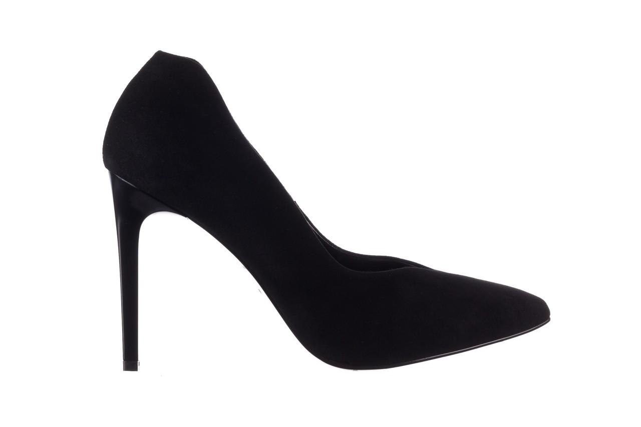Szpilki bayla-056 9174-21 czarny zamsz, skóra naturalna  - zamszowe - szpilki - buty damskie - kobieta 6