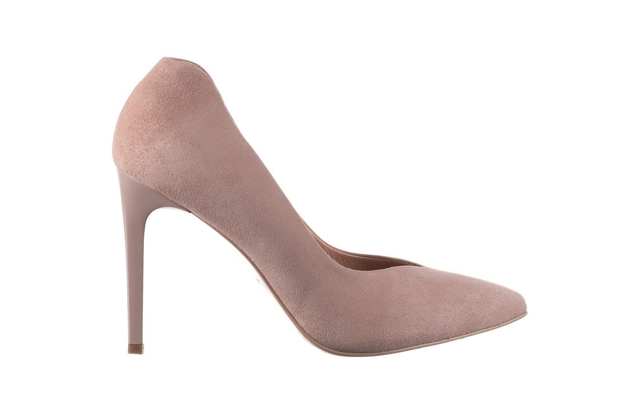 Szpilki bayla-056 9174-140 beż zamsz, skóra naturalna  - zamszowe - szpilki - buty damskie - kobieta 6