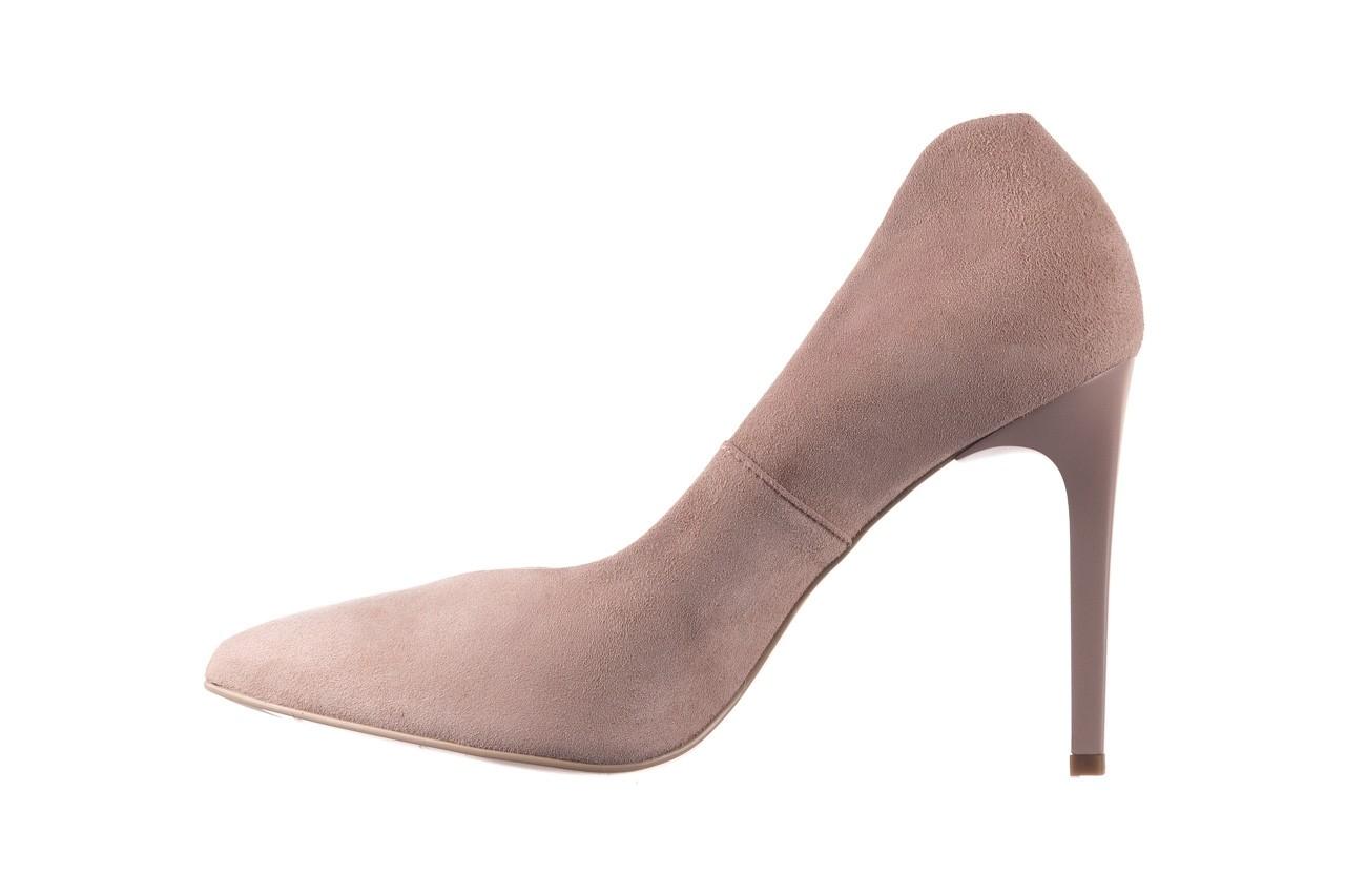 Szpilki bayla-056 9174-140 beż zamsz, skóra naturalna  - zamszowe - szpilki - buty damskie - kobieta 8