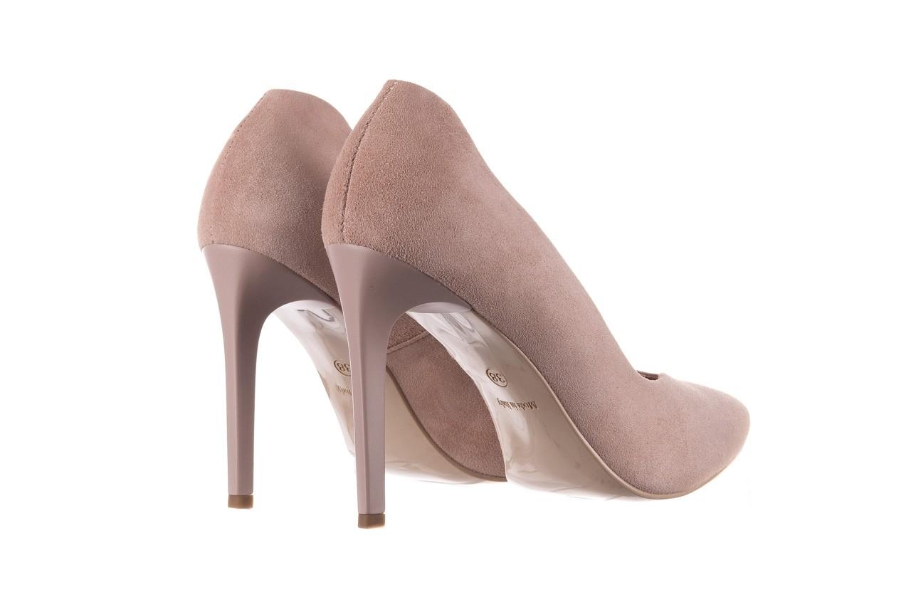 Szpilki bayla-056 9174-140 beż zamsz, skóra naturalna  - zamszowe - szpilki - buty damskie - kobieta 9