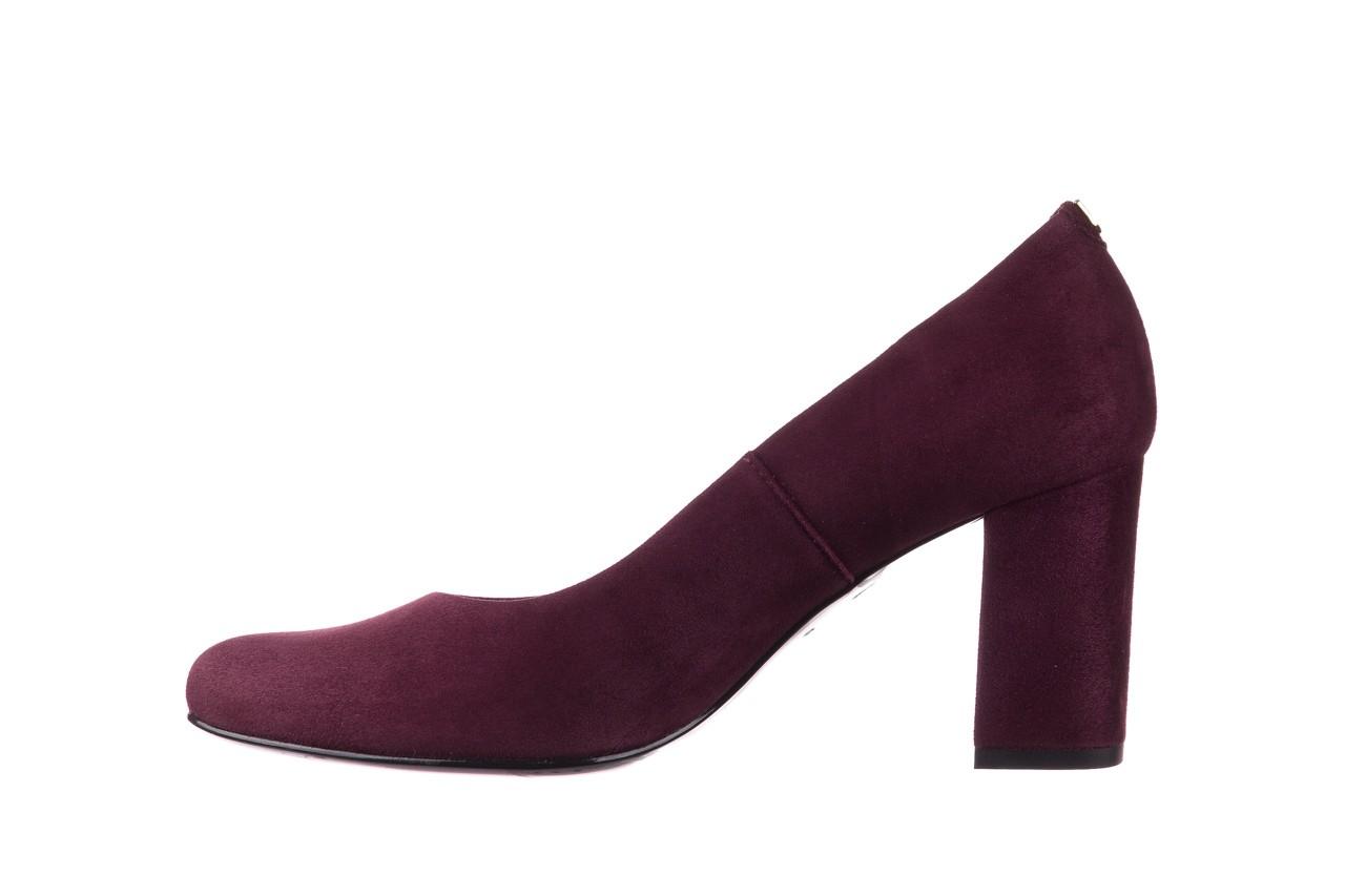 Czółenka bayla-056 9214-1321 fiolet zamsz, skóra naturalna - zamszowe - szpilki - buty damskie - kobieta 8