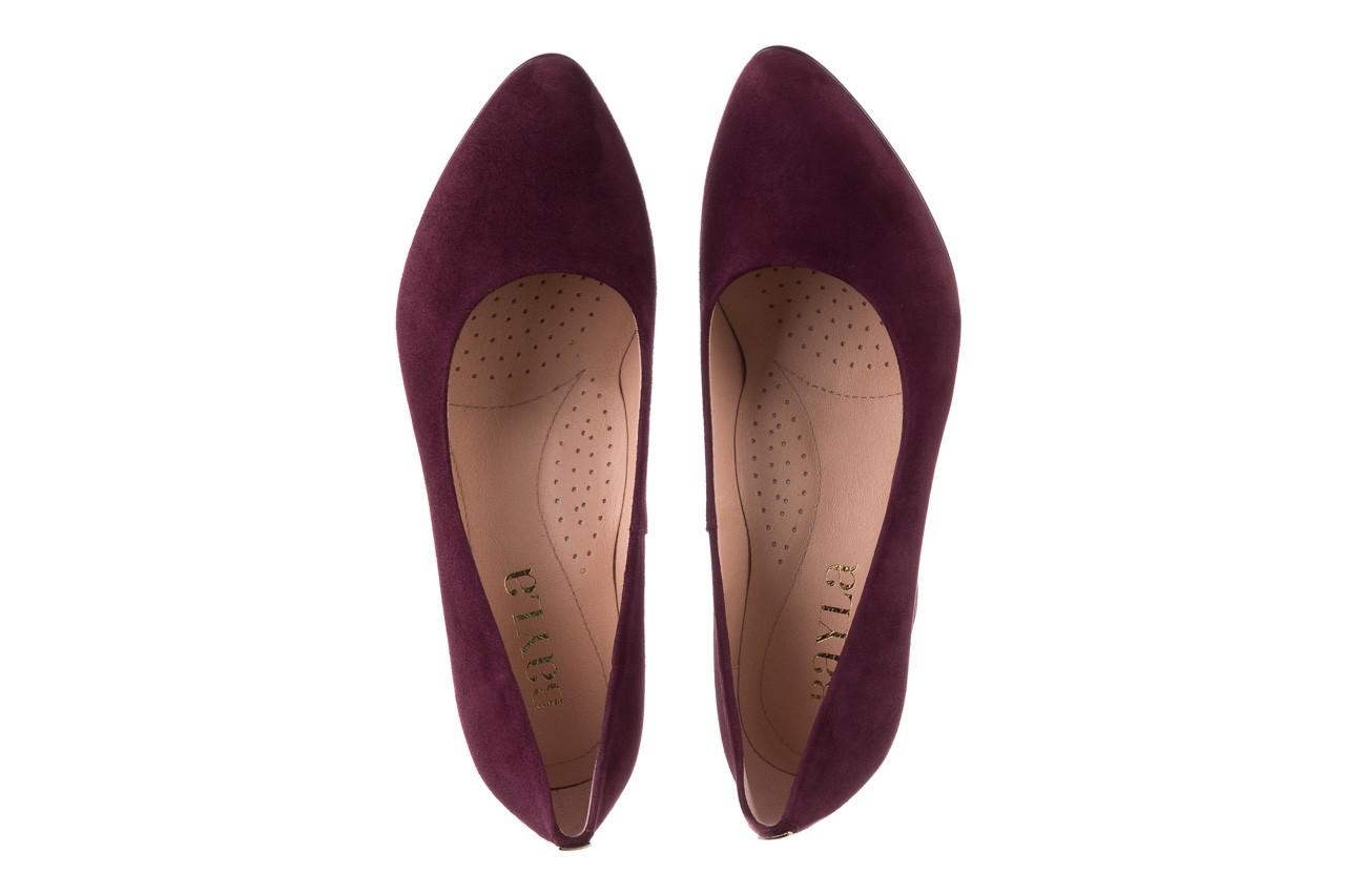 Czółenka bayla-056 9214-1321 fiolet zamsz, skóra naturalna - zamszowe - szpilki - buty damskie - kobieta 10