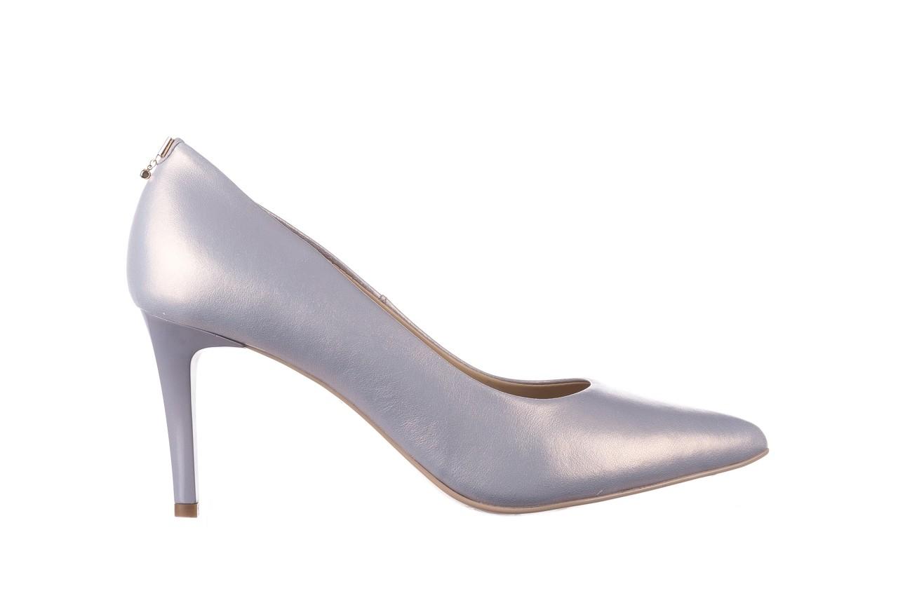 Czółenka bayla-056 7064-1448 szary perła 20, skóra naturalna  - szpilki - buty damskie - kobieta 6