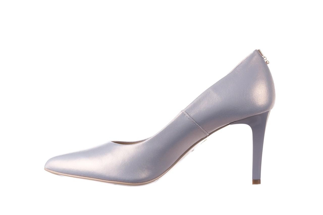 Czółenka bayla-056 7064-1448 szary perła 20, skóra naturalna  - szpilki - buty damskie - kobieta 8