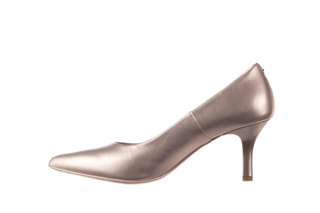 Czółenka bayla-056 9117-1099 beż perła 20, skóra naturalna  - szpilki - buty damskie - kobieta 8