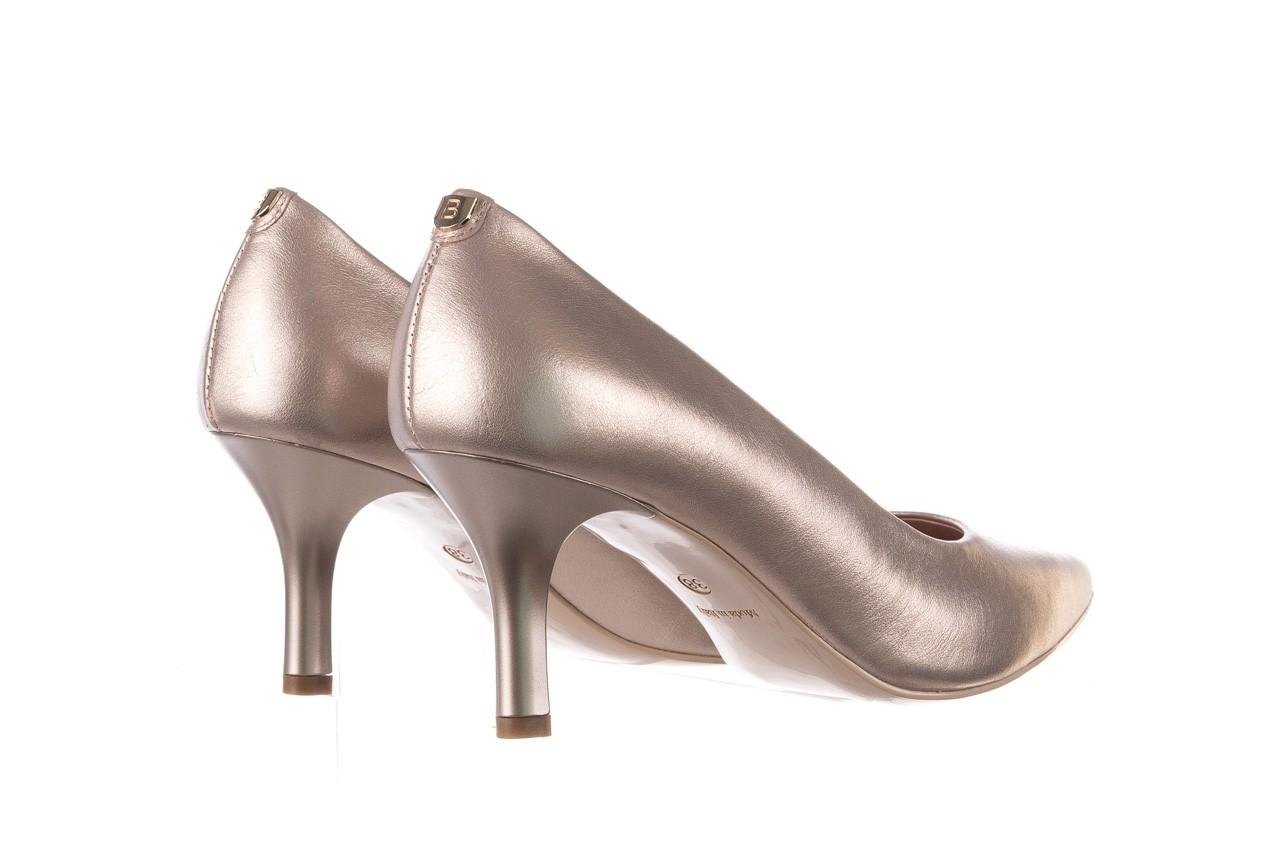 Czółenka bayla-056 9117-1099 beż perła 20, skóra naturalna  - szpilki - buty damskie - kobieta 9