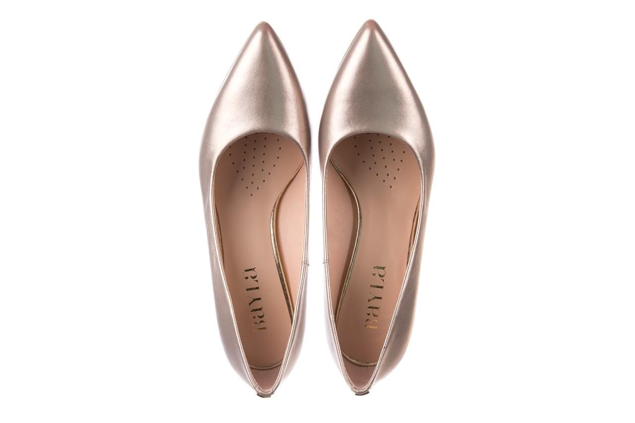 Czółenka bayla-056 9117-1099 beż perła 20, skóra naturalna  - szpilki - buty damskie - kobieta 10