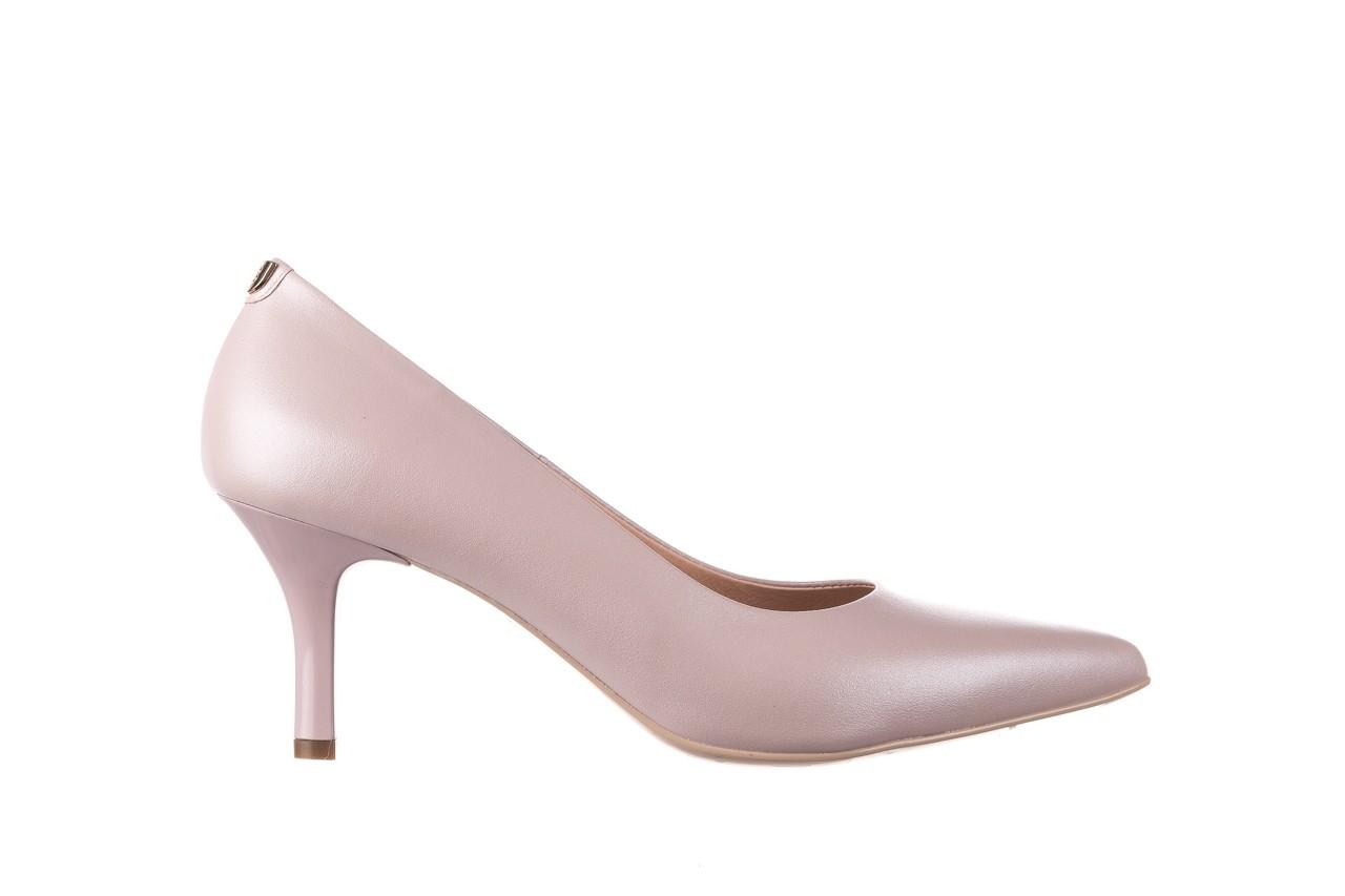Czółenka bayla-056 9117-1460 róż perła, skóra naturalna  - skórzane - szpilki - buty damskie - kobieta 6
