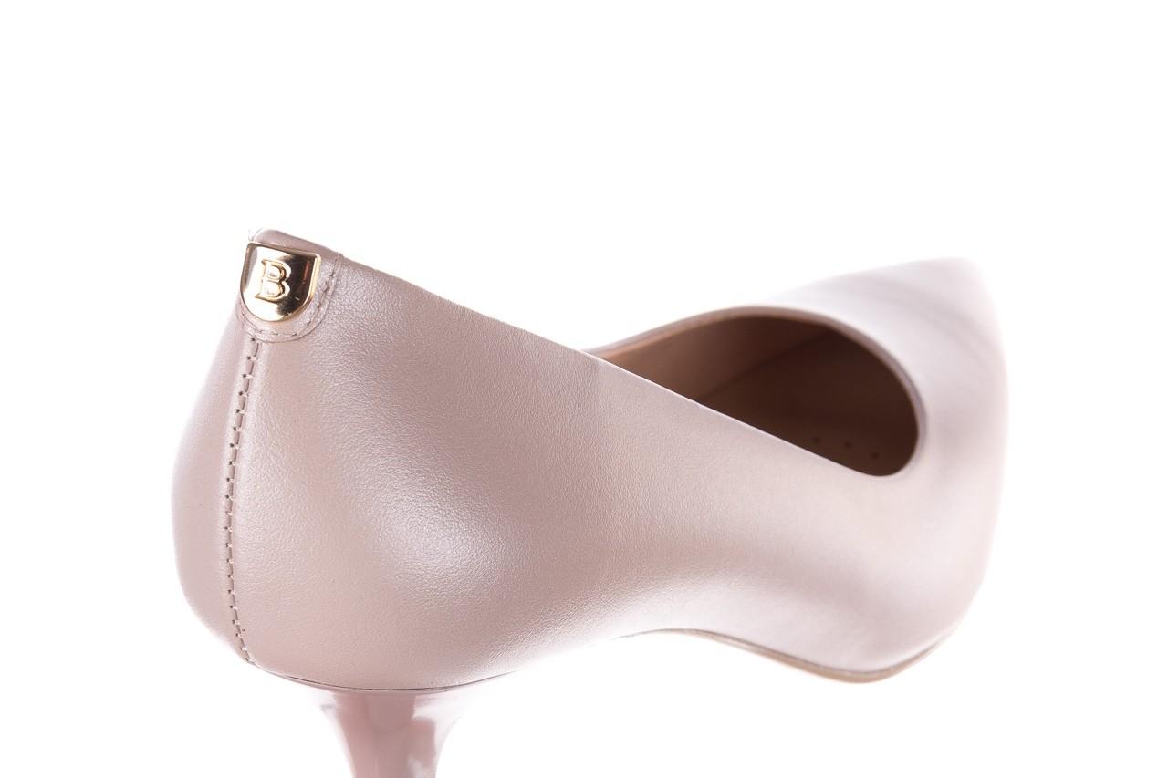 Czółenka bayla-056 9117-1460 róż perła, skóra naturalna  - skórzane - szpilki - buty damskie - kobieta 11