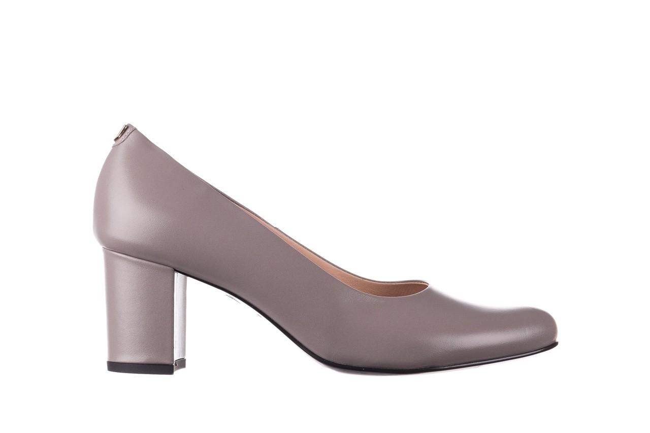 Czółenka bayla-056 9222-700 popiel, skóra naturalna  - skórzane - szpilki - buty damskie - kobieta 6