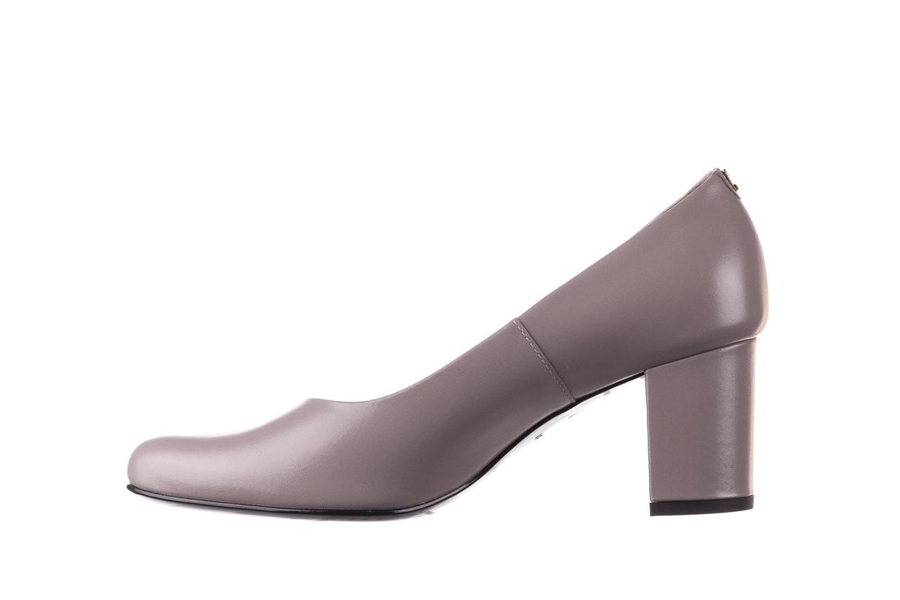Czółenka bayla-056 9222-700 popiel, skóra naturalna  - skórzane - szpilki - buty damskie - kobieta 8
