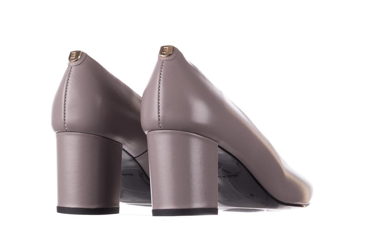 Czółenka bayla-056 9222-700 popiel, skóra naturalna  - skórzane - szpilki - buty damskie - kobieta 9