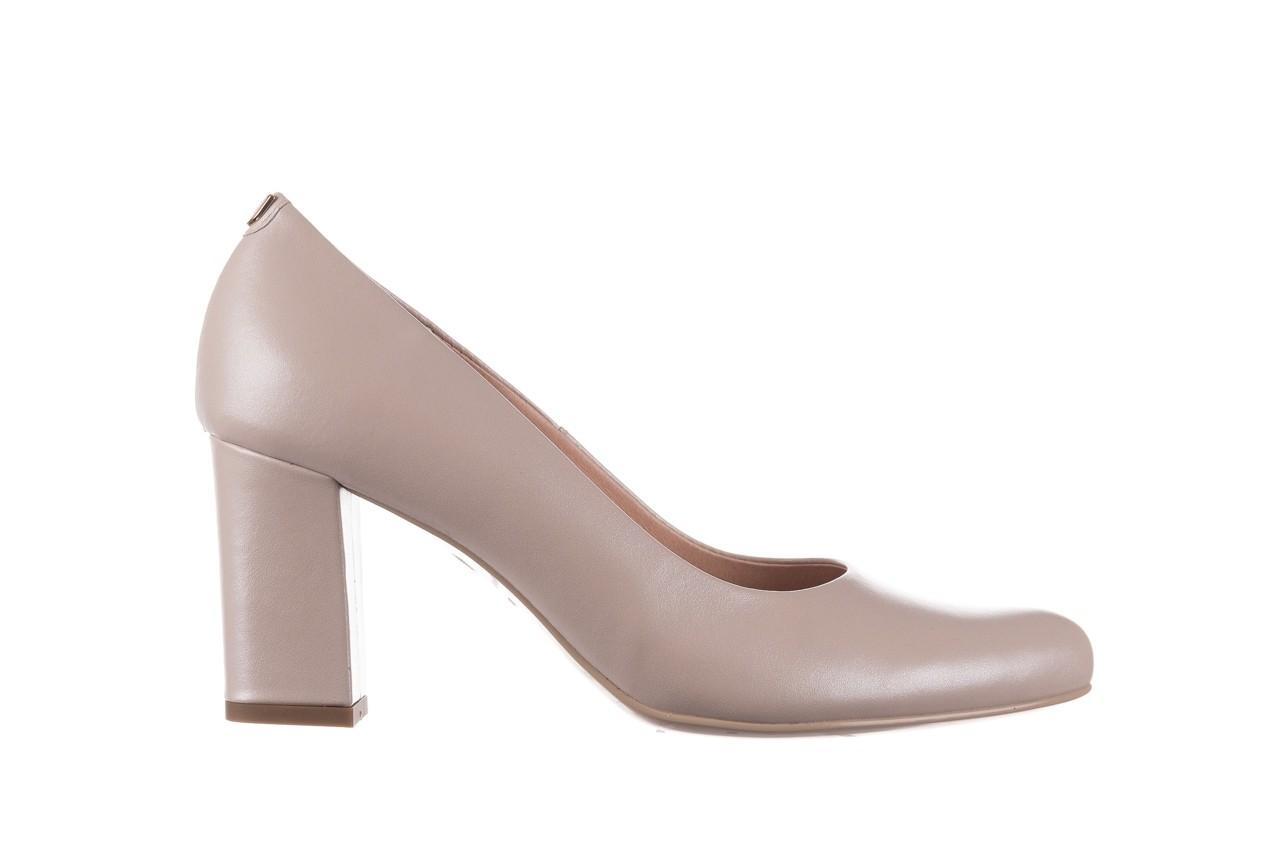 Czółenka bayla-056 9214-1459 beż perła, skóra naturalna  - czółenka - buty damskie - kobieta 6