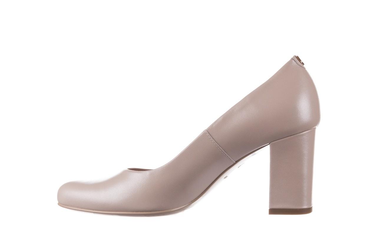 Czółenka bayla-056 9214-1459 beż perła, skóra naturalna  - czółenka - buty damskie - kobieta 8