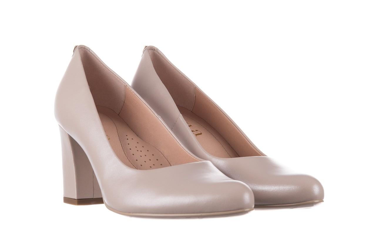 Czółenka bayla-056 9214-1459 beż perła, skóra naturalna  - czółenka - buty damskie - kobieta 7