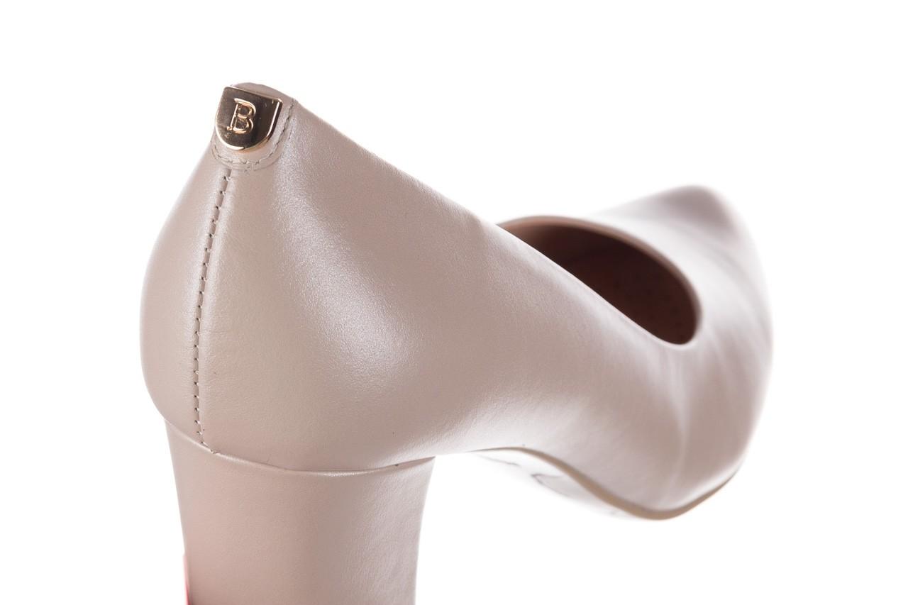 Czółenka bayla-056 9214-1459 beż perła, skóra naturalna  - czółenka - buty damskie - kobieta 11