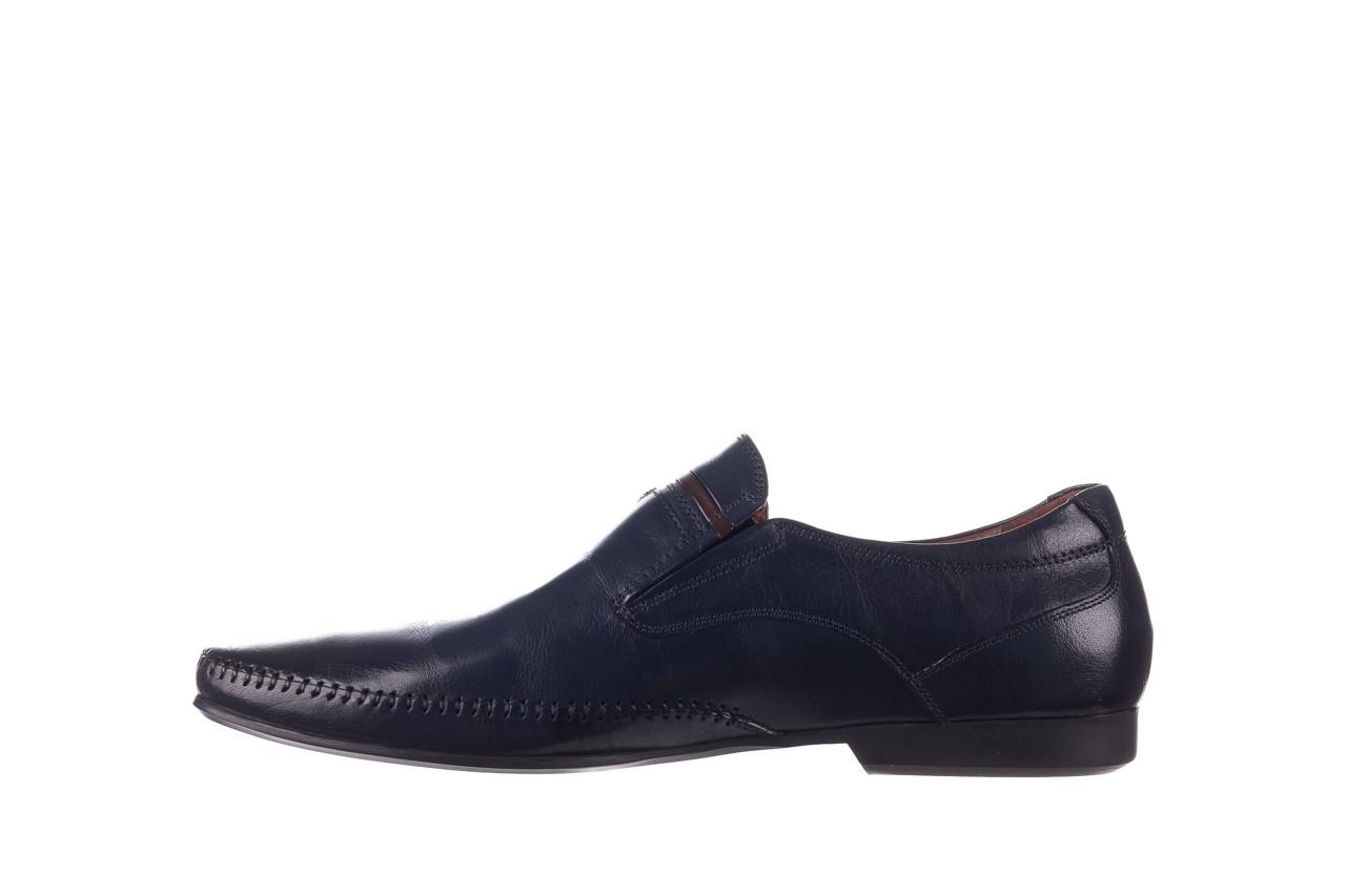Mokasyny brooman 17931-151h677 niebieski, skóra naturalna  - mokasyny i espadryle - buty męskie - mężczyzna 9