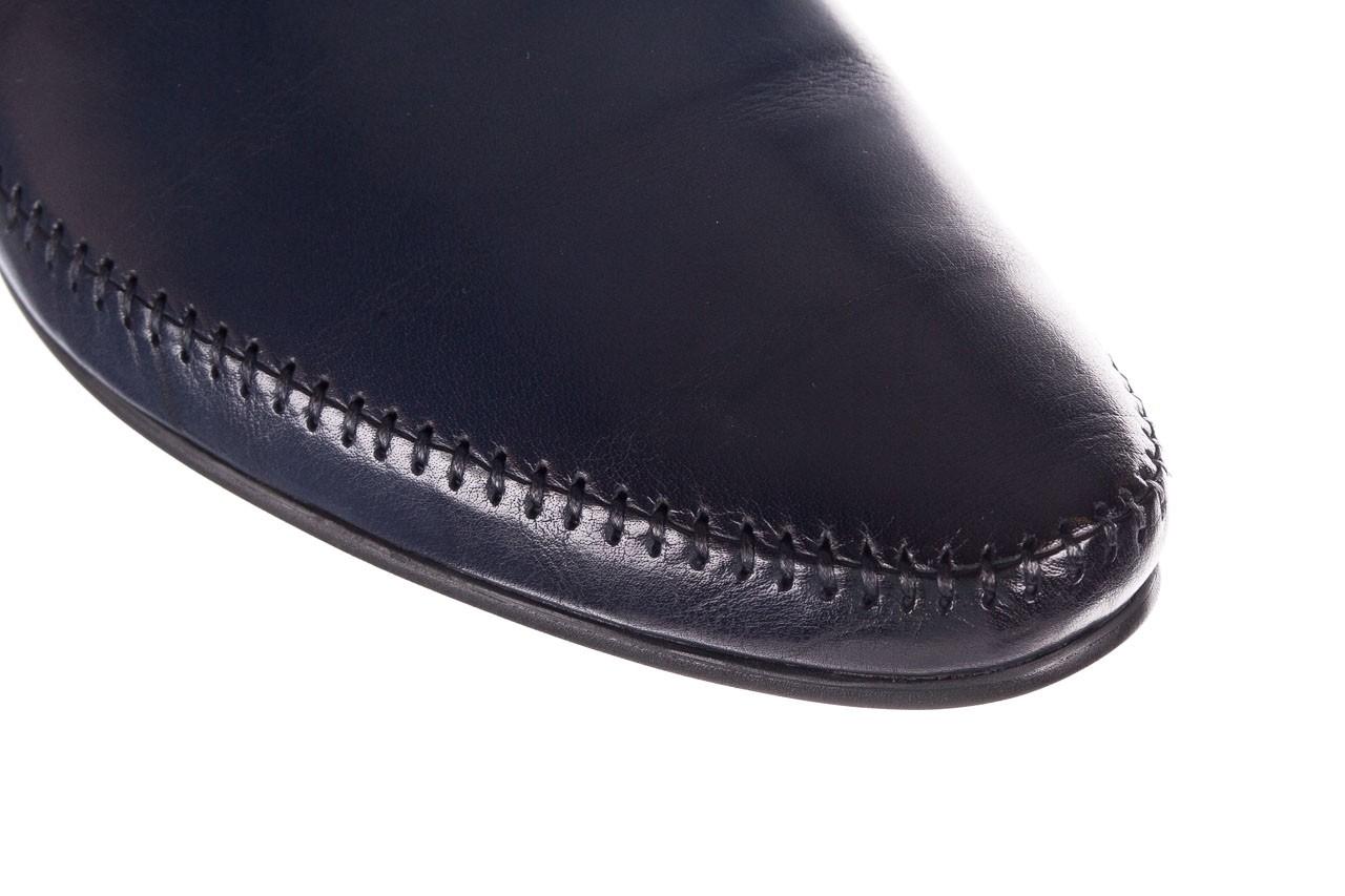 Mokasyny brooman 17931-151h677 niebieski, skóra naturalna  - mokasyny i espadryle - buty męskie - mężczyzna 12