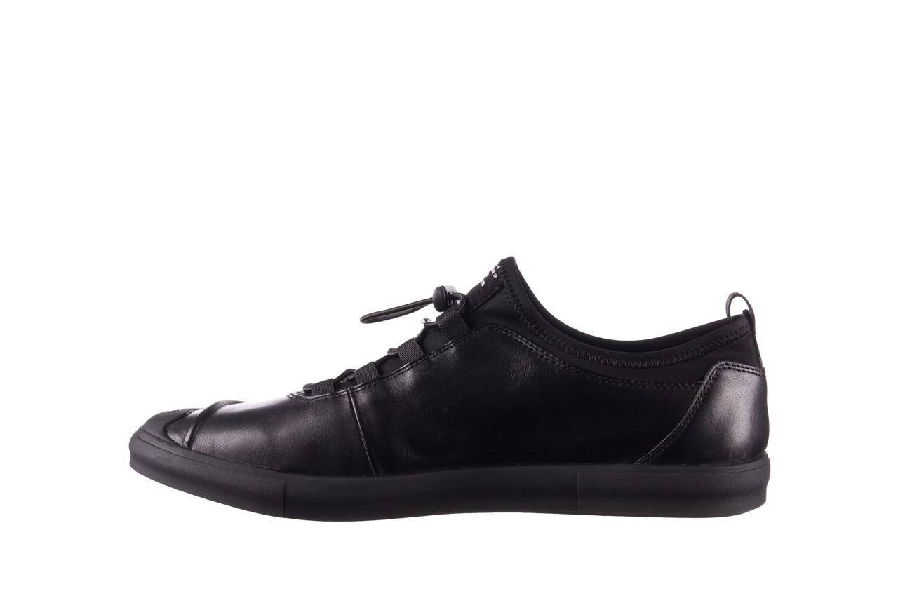 Trampki brooman b55117-1 czarny, skóra naturalna  - niskie - trampki - buty męskie - mężczyzna 10