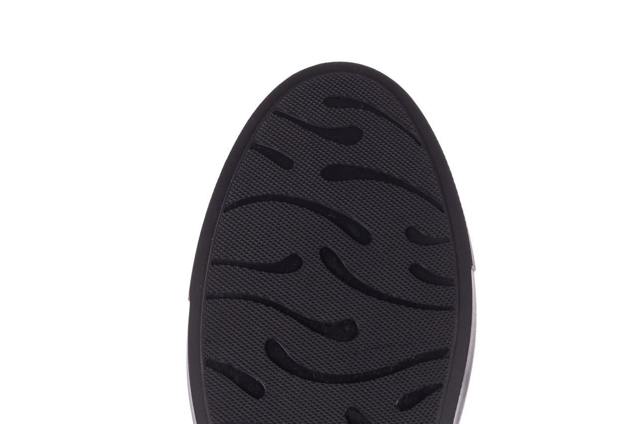 Trampki brooman b55117-1 czarny, skóra naturalna  - niskie - trampki - buty męskie - mężczyzna 14