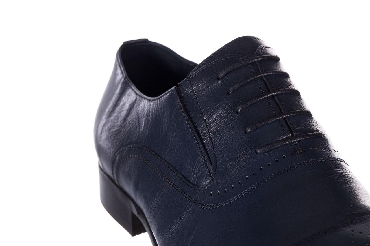 Półbuty brooman ja190-708a-j15 niebieski, skóra naturalna  - półbuty - buty męskie - mężczyzna 12