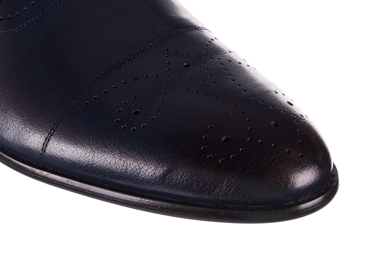 Półbuty brooman ja190-708a-j15 niebieski, skóra naturalna  - półbuty - buty męskie - mężczyzna 13