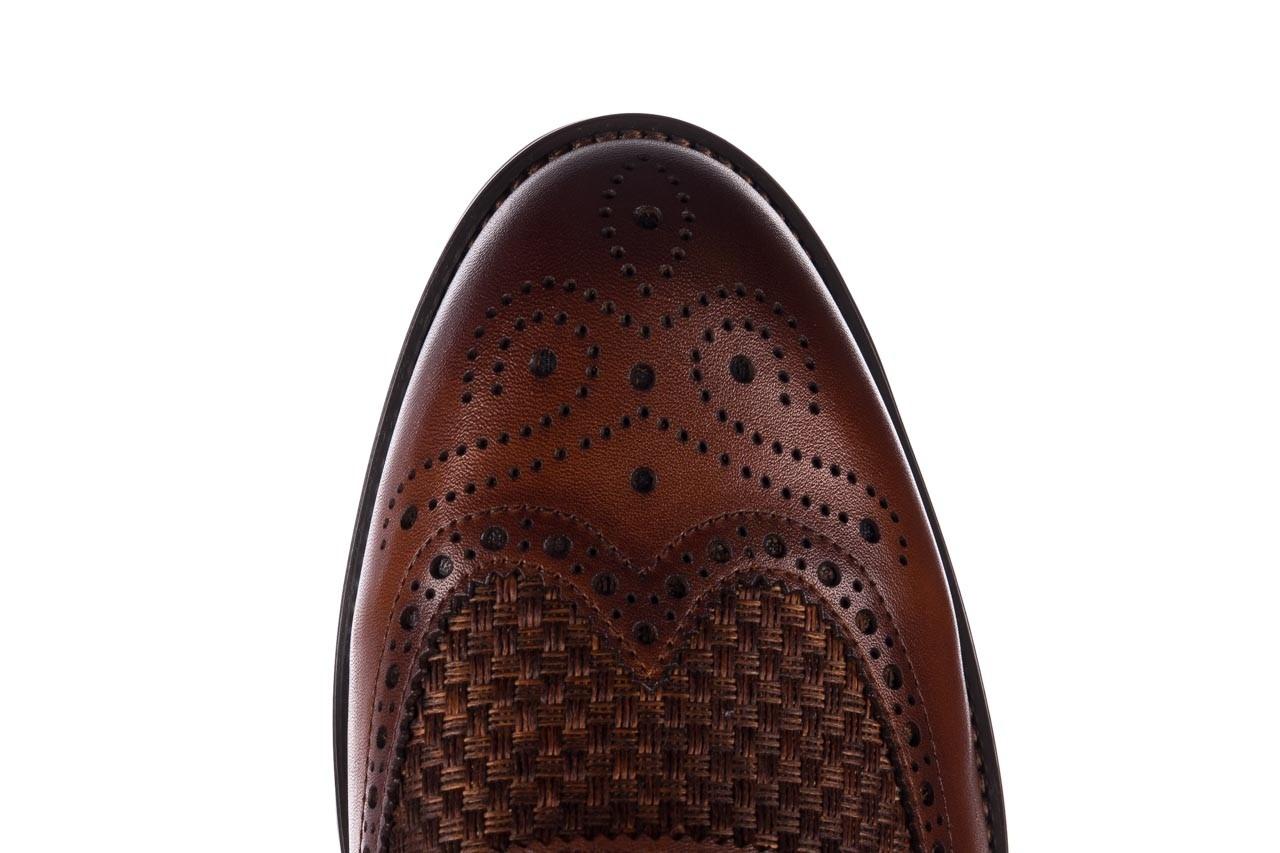 Półbuty brooman b206-b10-sw2 brązowy, skóra naturalna  - brooman - nasze marki 13