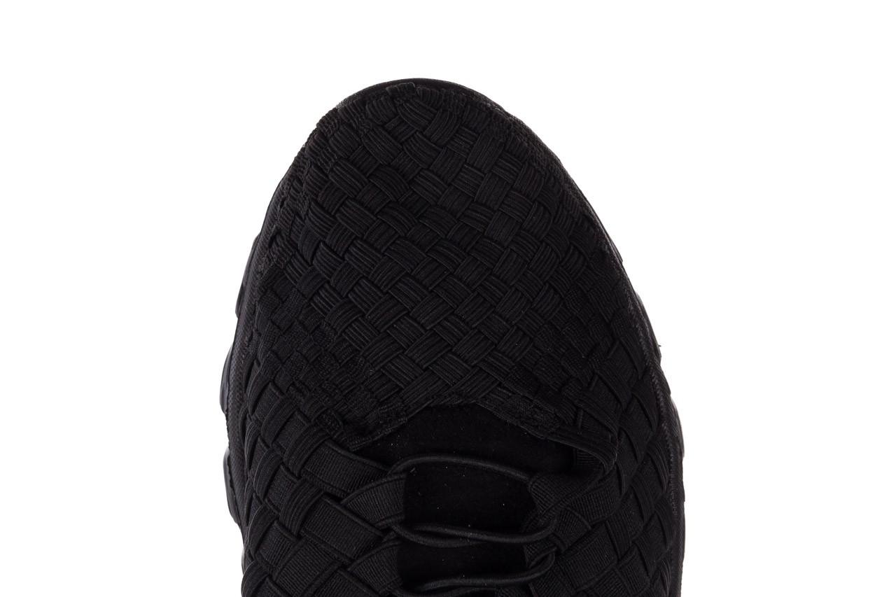 Trampki rock haneda men black, czarny, materiał 13