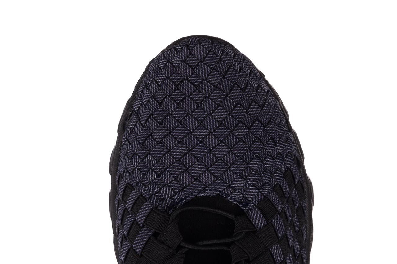 Trampki rock haneda men black ratan, granat/ czarny, materiał - sale - buty męskie - mężczyzna 13
