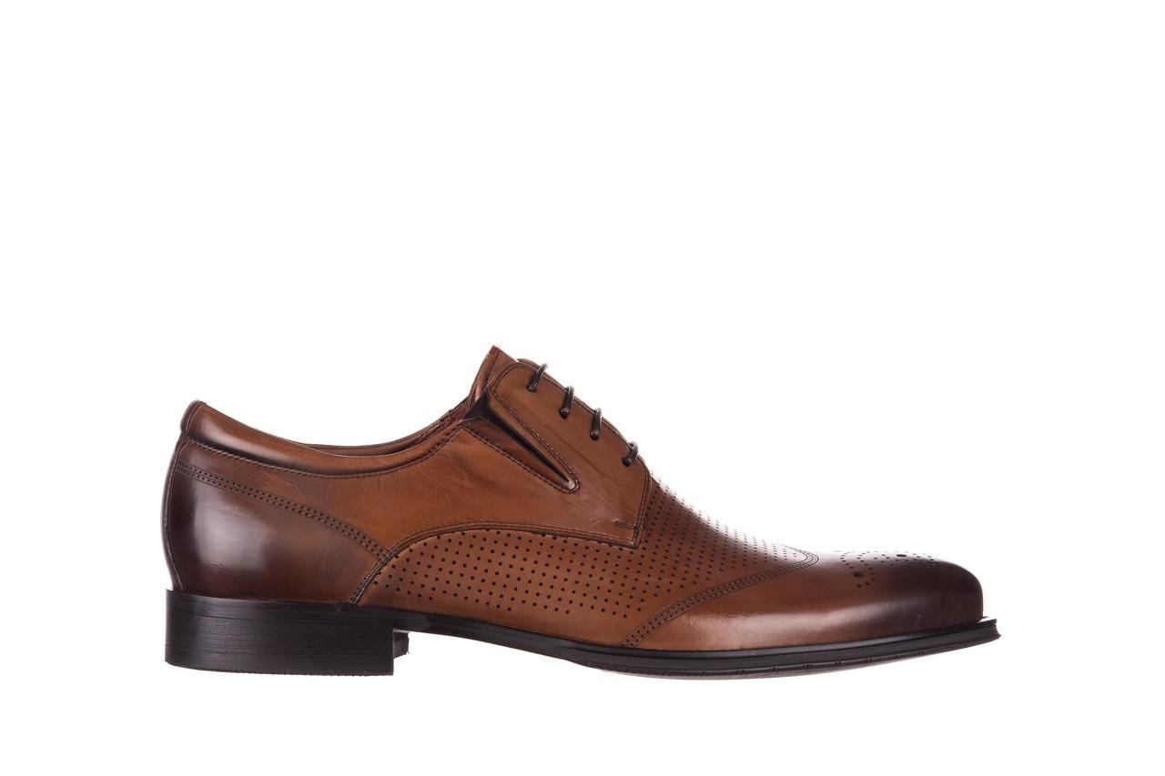 Półbuty john doubare db19-314-c79 brązowy, skóra naturalna - półbuty - buty męskie - mężczyzna 7