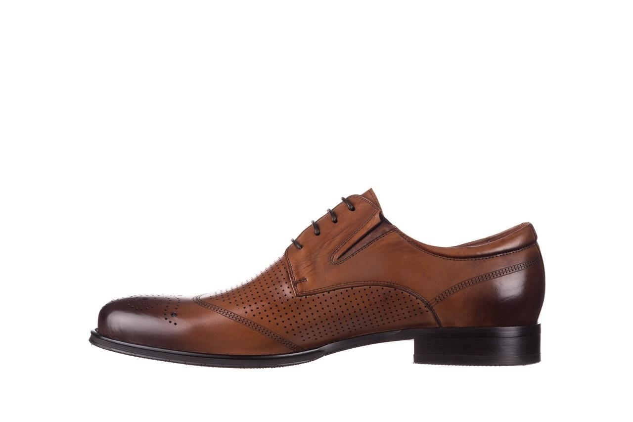 Półbuty john doubare db19-314-c79 brązowy, skóra naturalna - półbuty - buty męskie - mężczyzna 9