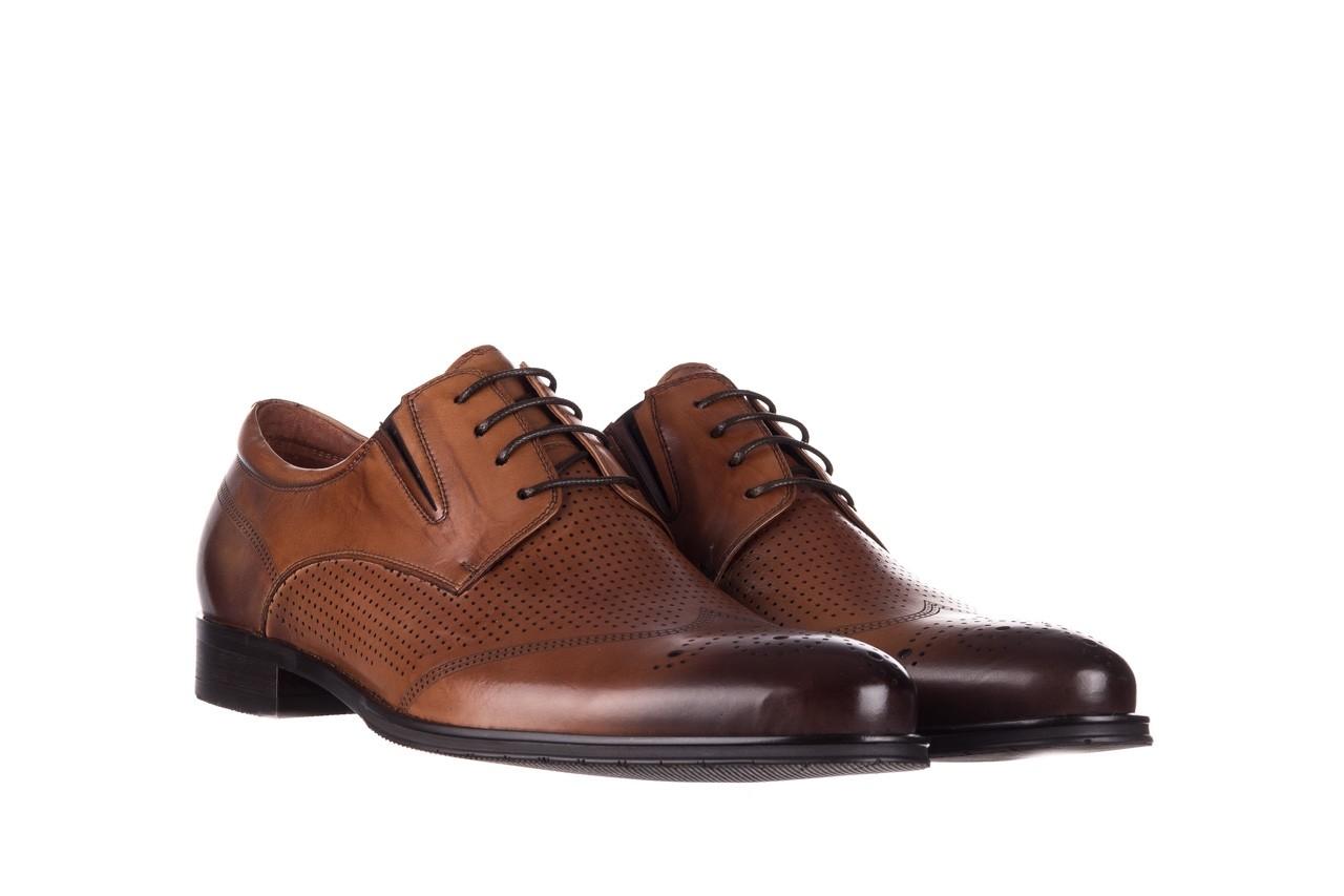 Półbuty john doubare db19-314-c79 brązowy, skóra naturalna - półbuty - buty męskie - mężczyzna 8