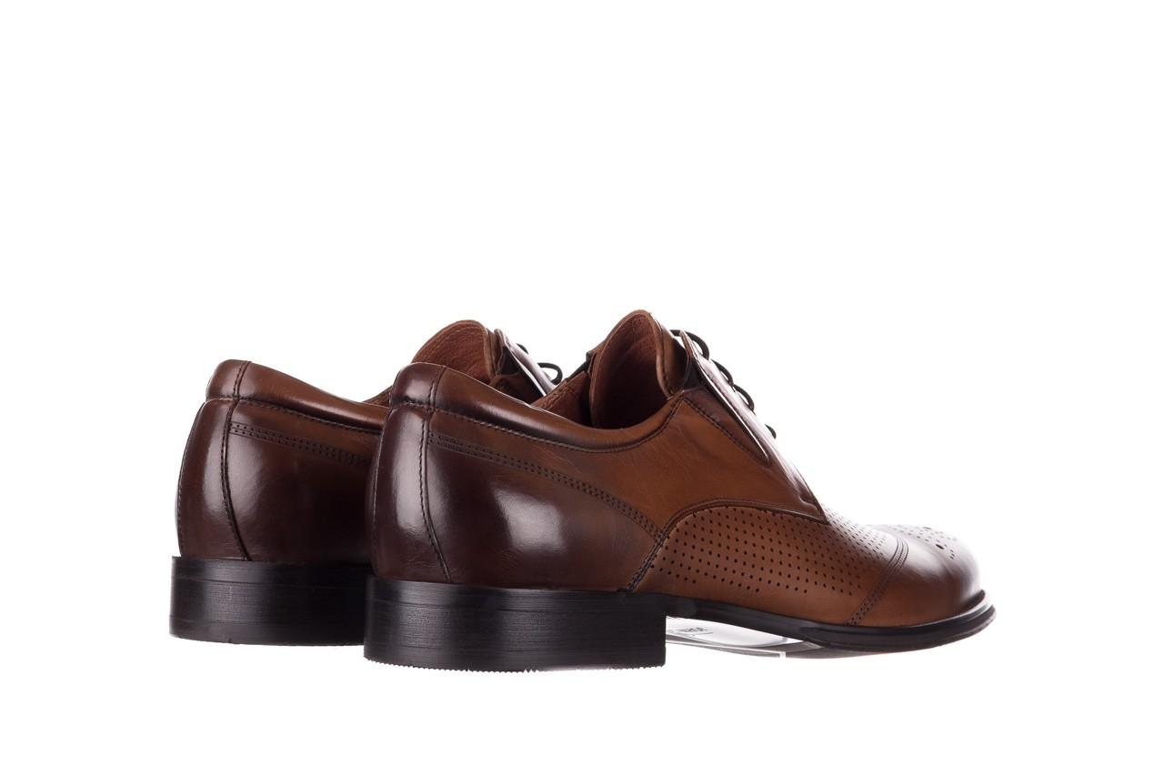 Półbuty john doubare db19-314-c79 brązowy, skóra naturalna - półbuty - buty męskie - mężczyzna 10