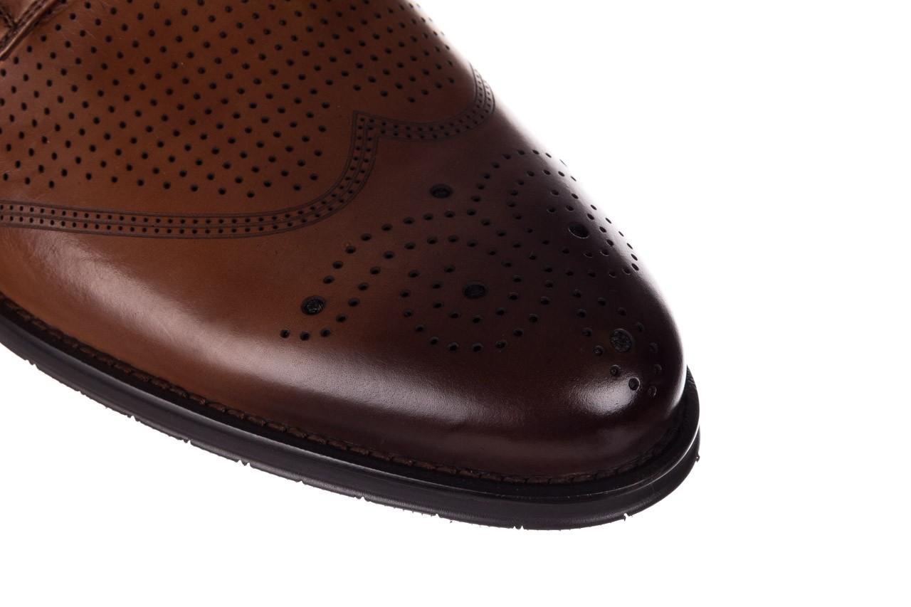 Półbuty john doubare db19-314-c79 brązowy, skóra naturalna - półbuty - buty męskie - mężczyzna 12