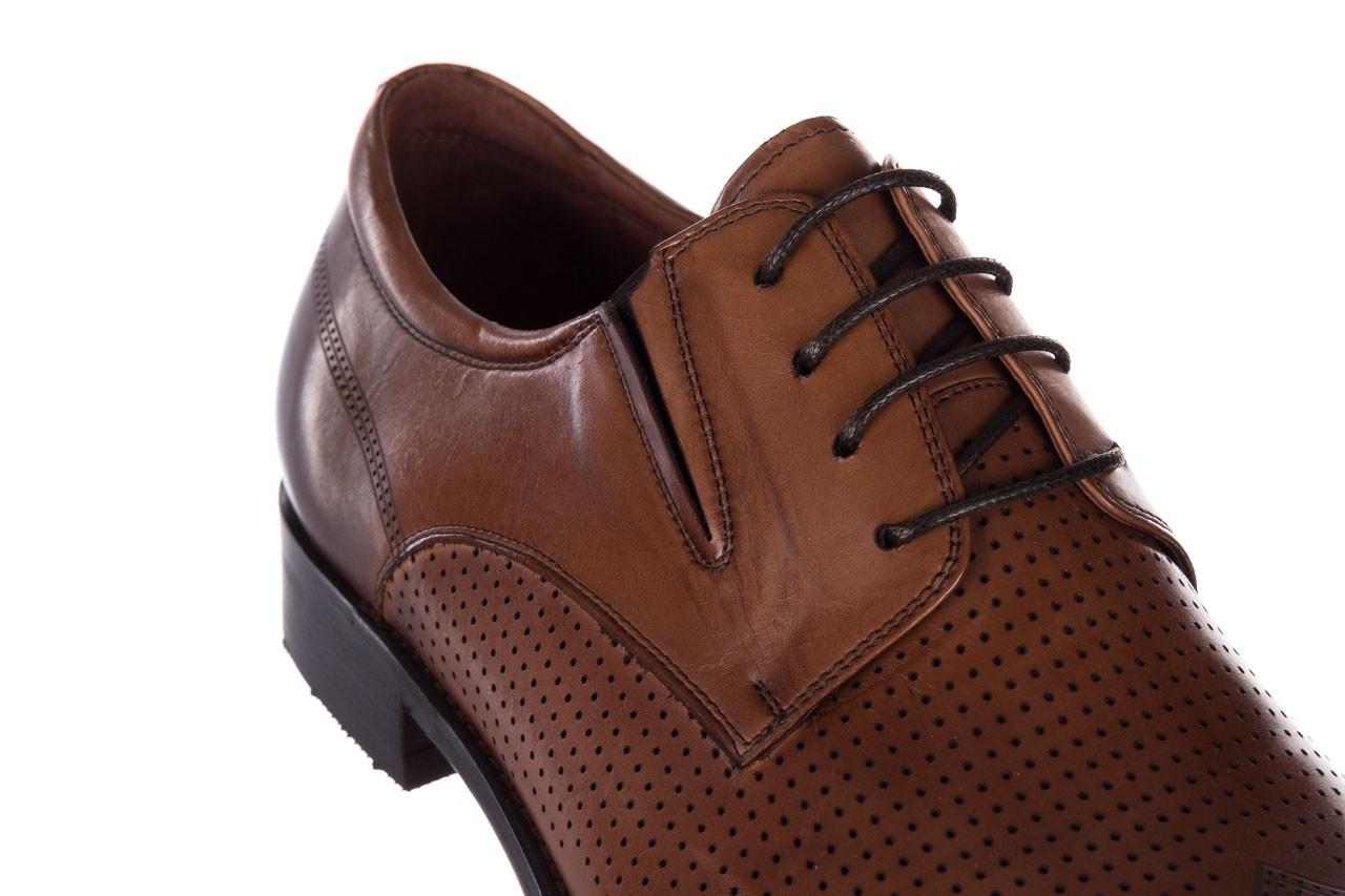 Półbuty john doubare db19-314-c79 brązowy, skóra naturalna - półbuty - buty męskie - mężczyzna 13