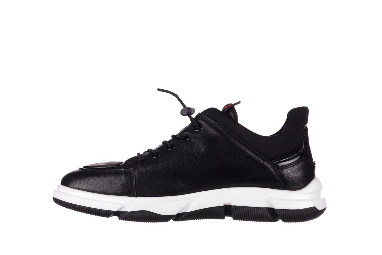 Trampki john doubare f1808-1 czarny, skóra naturalna  - niskie - trampki - buty męskie - mężczyzna 11