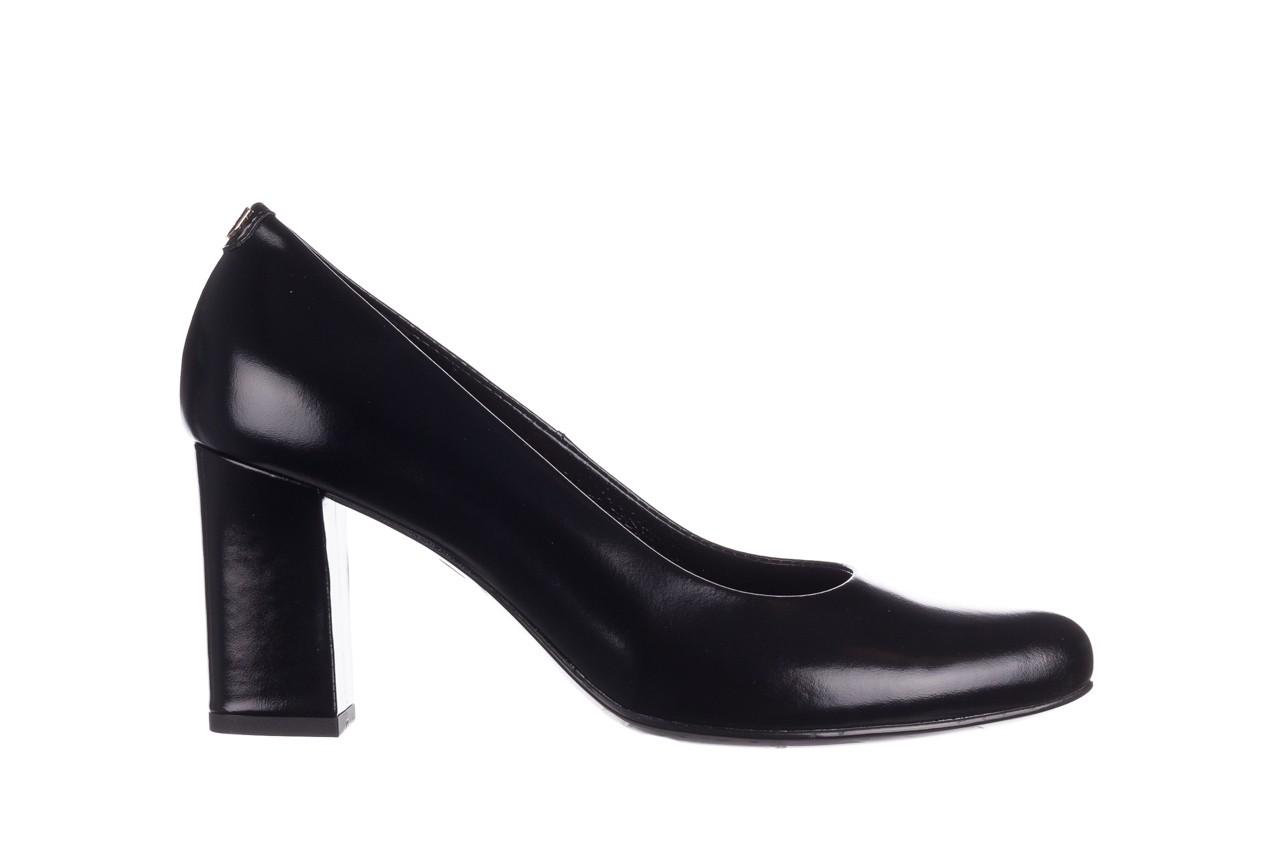 Czółenka bayla-056 9214-1278 czarny lico 20, skóra naturalna - na słupku - czółenka - buty damskie - kobieta 6