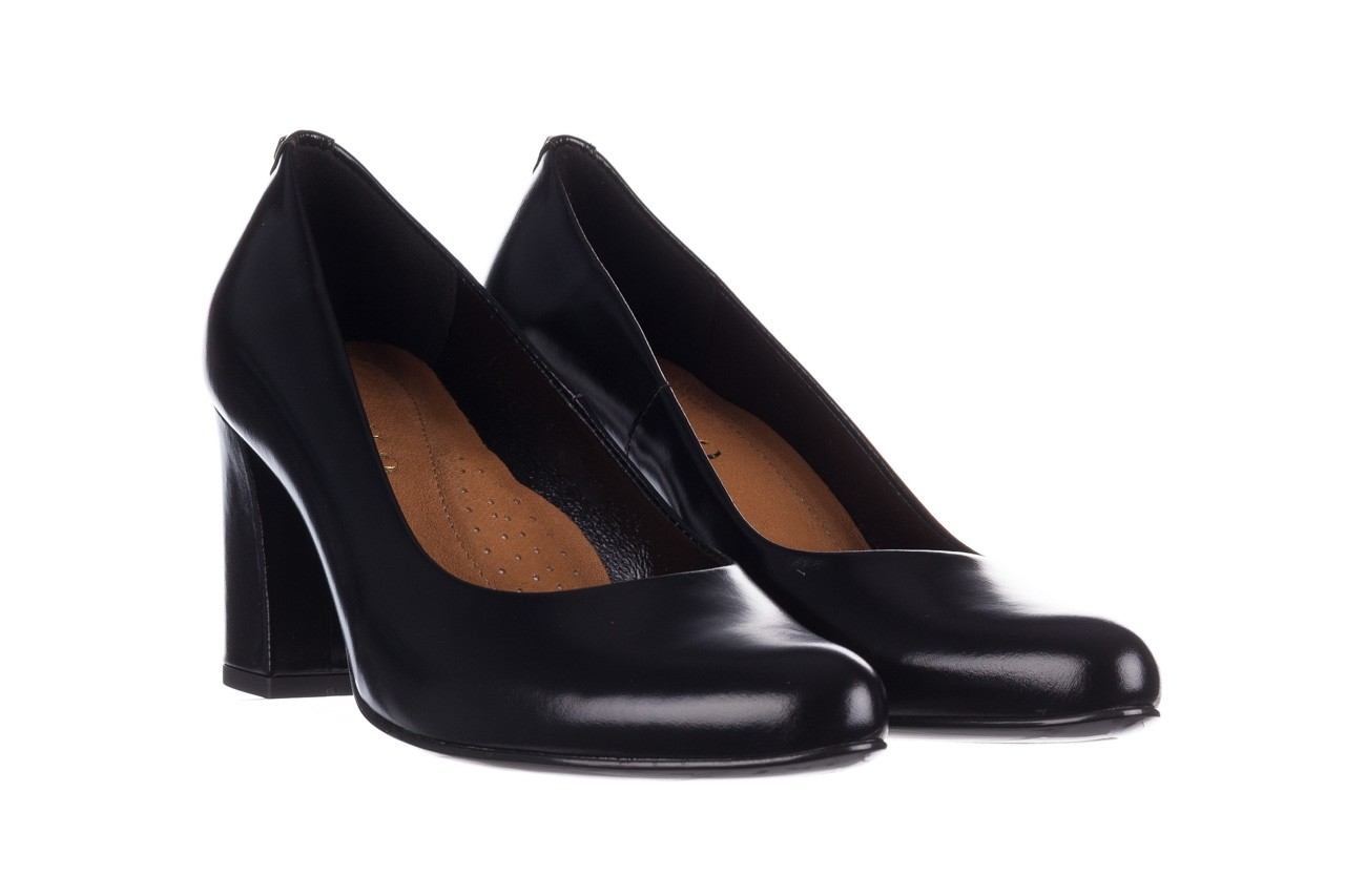 Czółenka bayla-056 9214-1278 czarny lico, skóra naturalna  - czółenka - buty damskie - kobieta 7