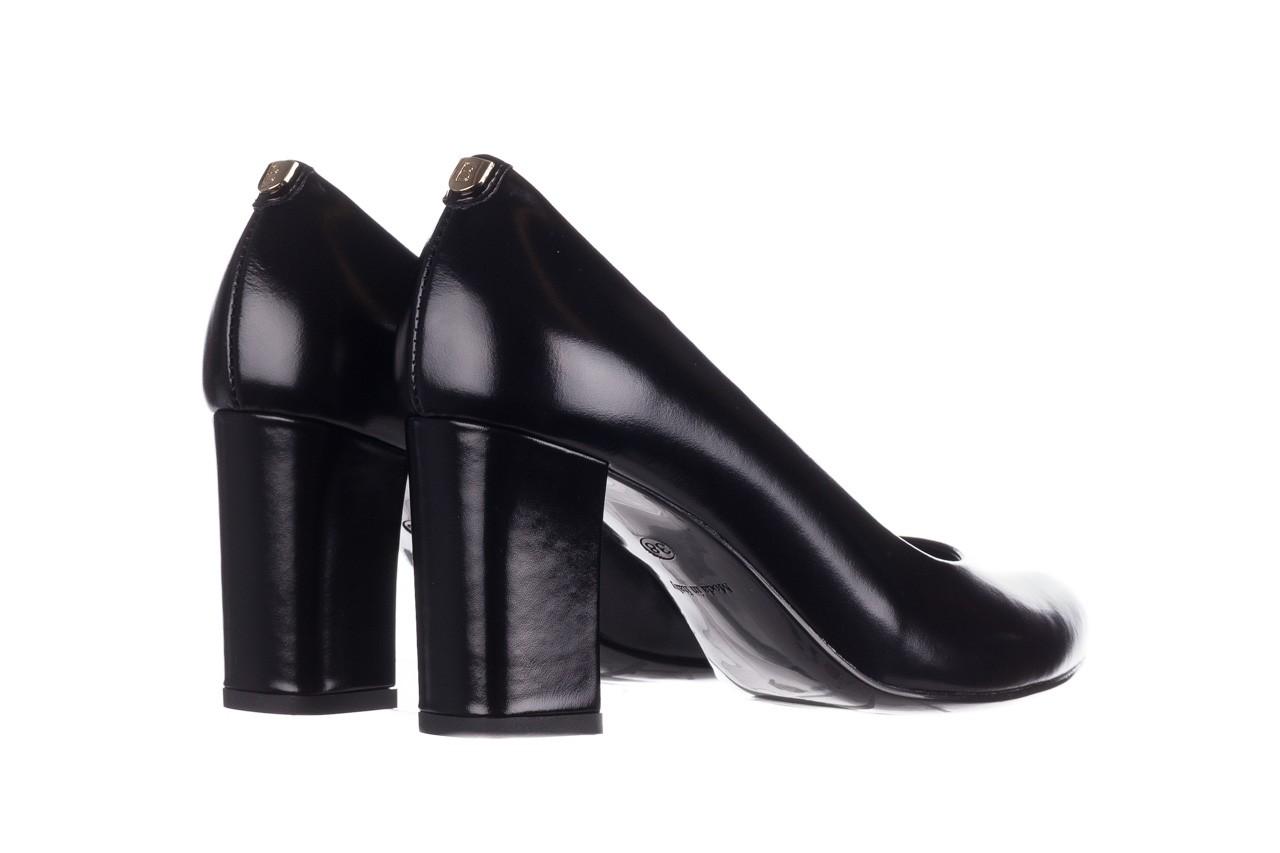 Czółenka bayla-056 9214-1278 czarny lico 20, skóra naturalna - na słupku - czółenka - buty damskie - kobieta 9