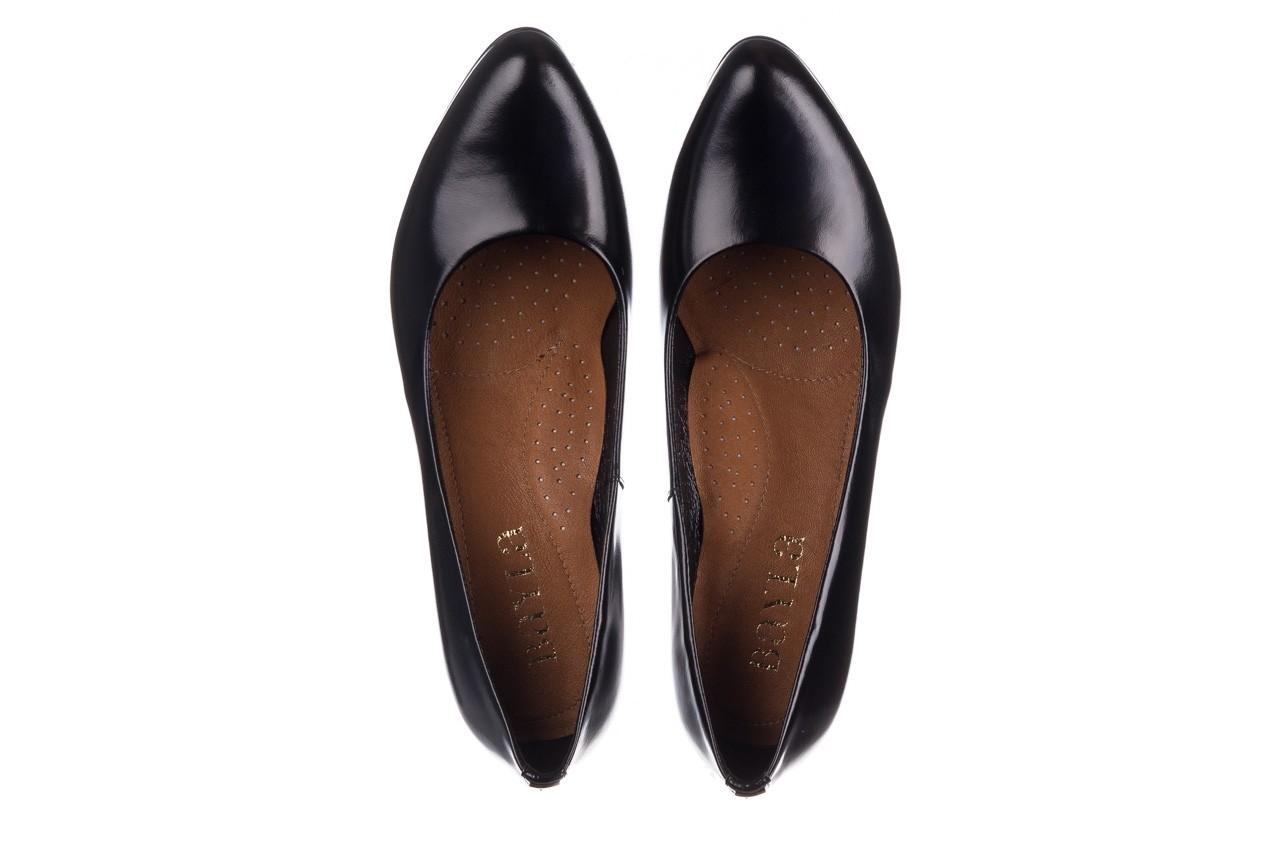 Czółenka bayla-056 9214-1278 czarny lico 20, skóra naturalna - na słupku - czółenka - buty damskie - kobieta 10