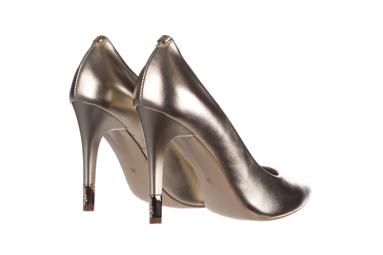 Szpilki bayla-056 2062-740 złoty, skóra naturalna  - czółenka - buty damskie - kobieta 10