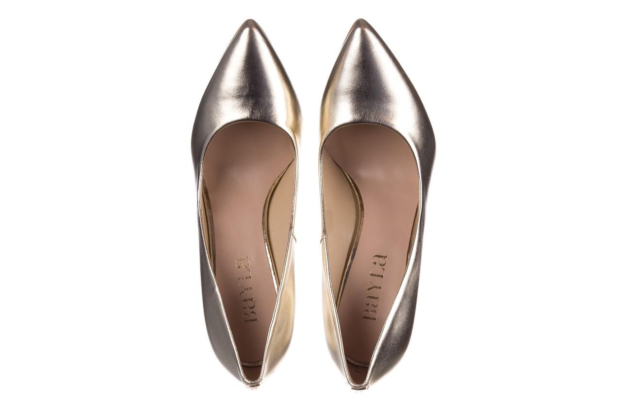 Szpilki bayla-056 2062-740 złoty, skóra naturalna  - czółenka - buty damskie - kobieta 11