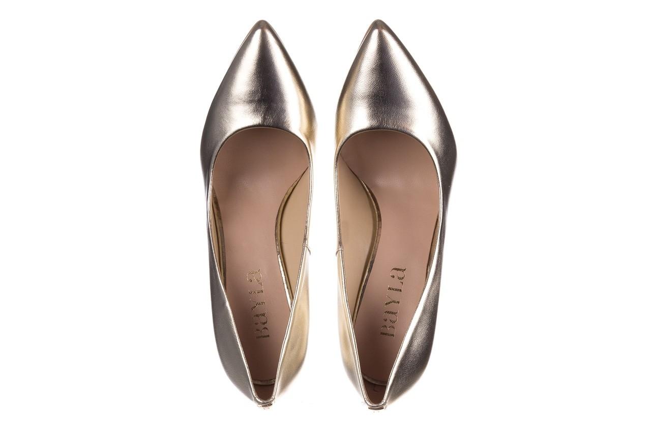 Szpilki bayla-056 2062-740 złoty 20, skóra naturalna  - szpilki - buty damskie - kobieta 11