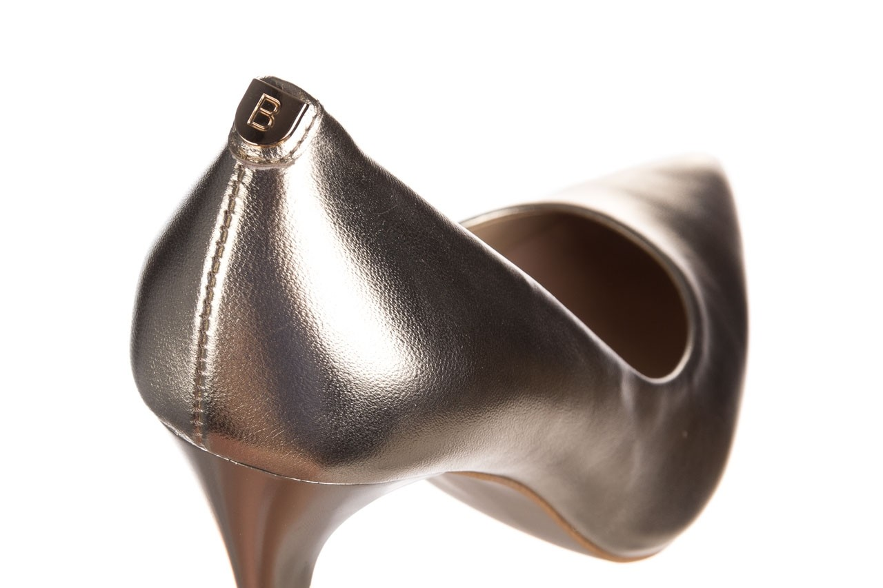 Szpilki bayla-056 2062-740 złoty, skóra naturalna  - czółenka - buty damskie - kobieta 12
