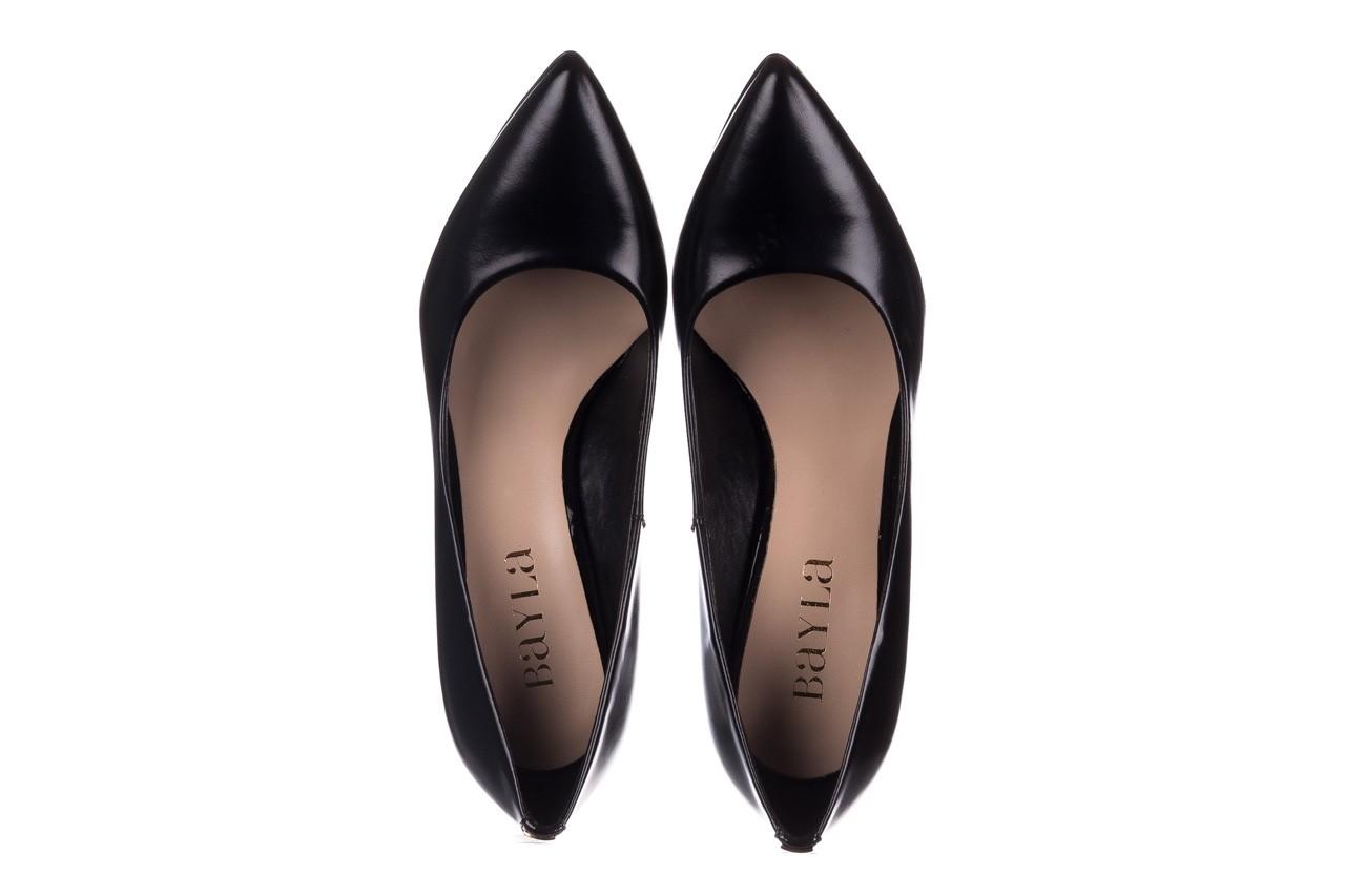 Szpilki bayla-056 2062-1278 czarny lico, skóra naturalna  - czółenka - buty damskie - kobieta 11