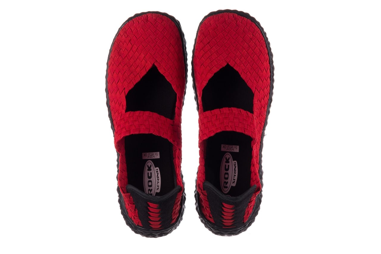 Półbuty rock over red 19, czerwony, materiał - rock - nasze marki 11