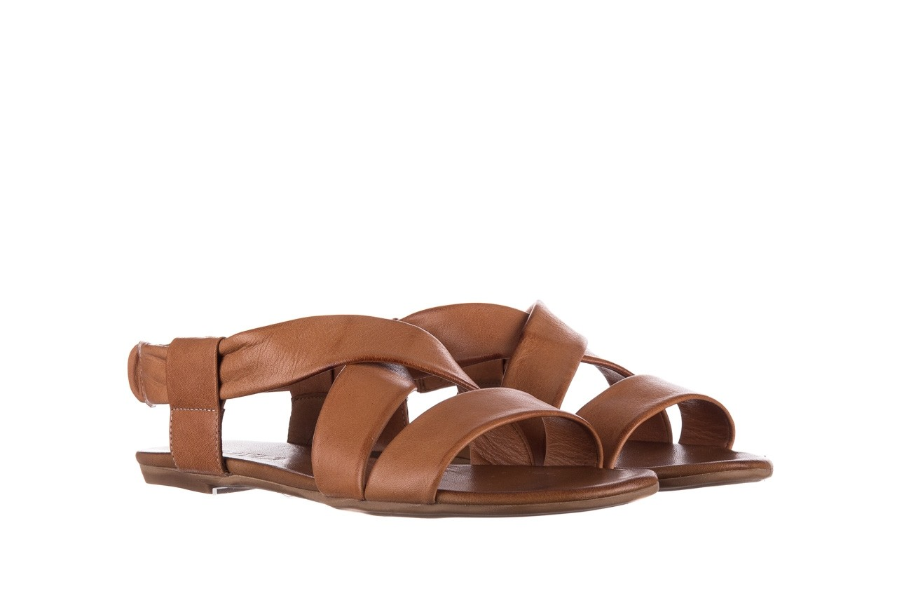 Sandały bayla-161 061 849 brąz, skóra naturalna 8