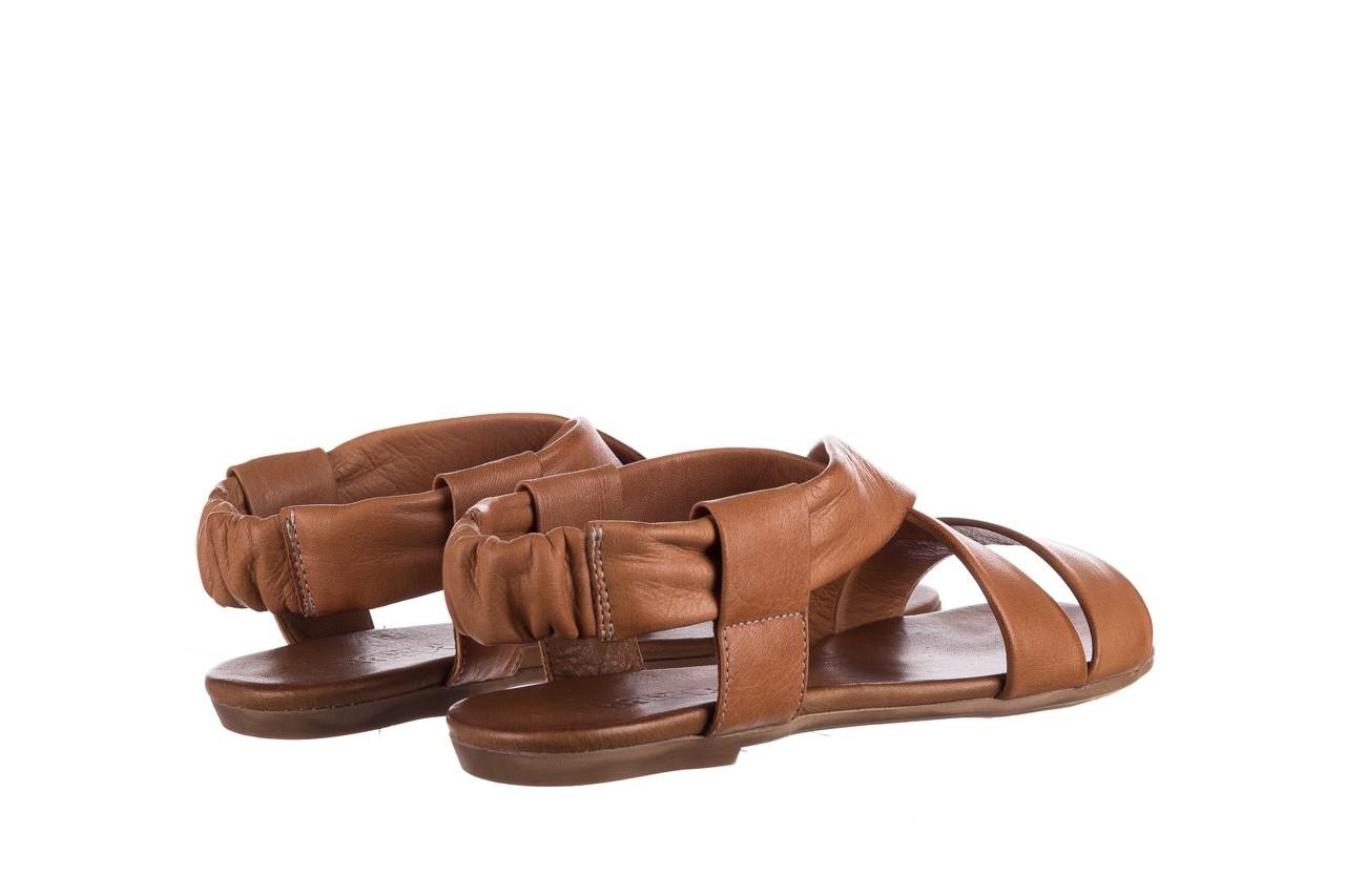 Sandały bayla-161 061 849 brąz, skóra naturalna 10