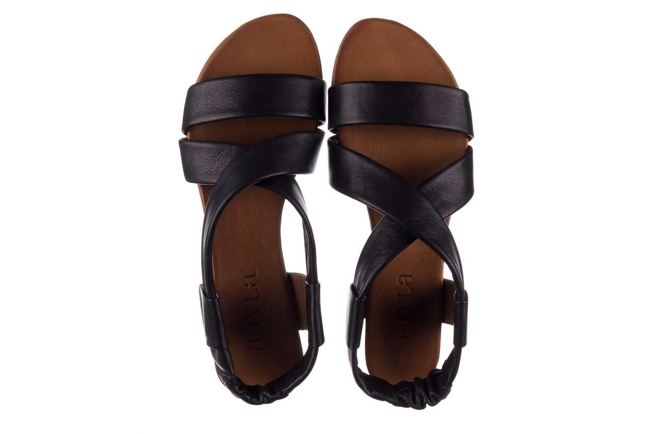Sandały bayla-161 061 849 czarny, skóra naturalna  - bayla - nasze marki 11
